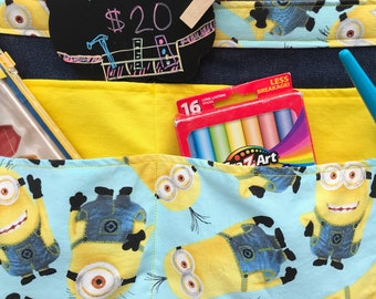 Kids art apron/tool belt