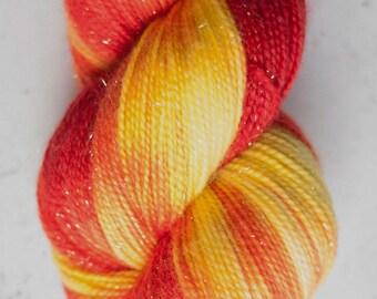 Sparkle Sock Yarn, Wildfire