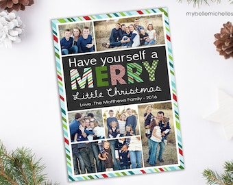Multiple Photo Christmas Greeting Card