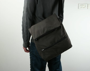 Messenger Bag , Laptop Bag ,Brown ,Cotton,Drill- Dori