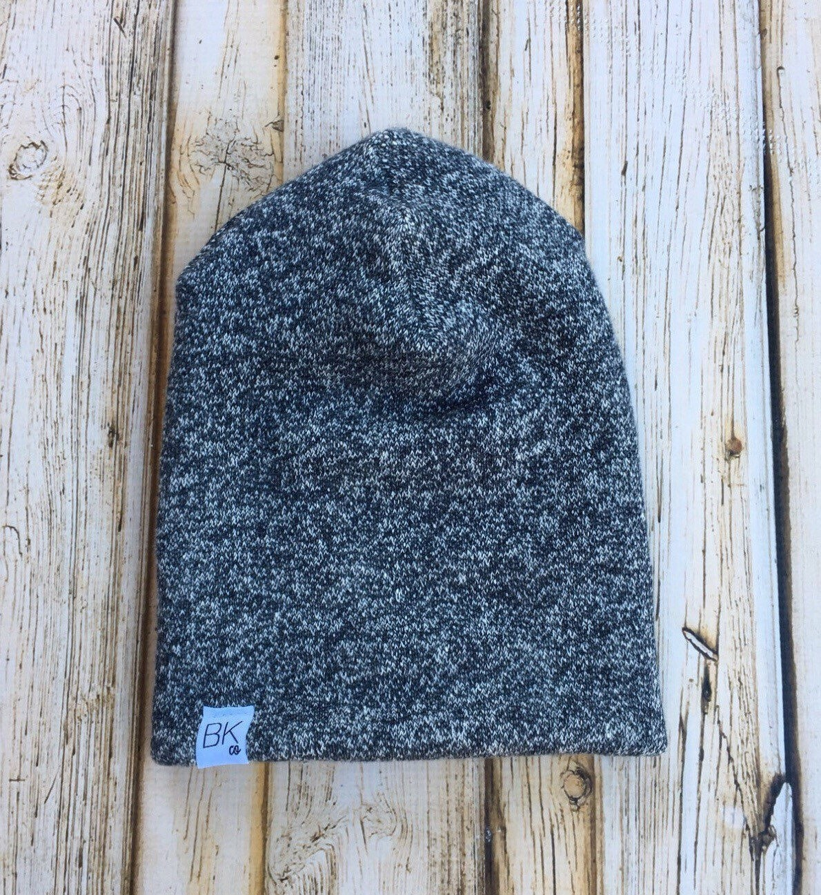 058b7b1c41c The All Canadian Slouch Beanie in a heathered Dark Navy