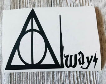 Inspired by Harry Potter Always Decal