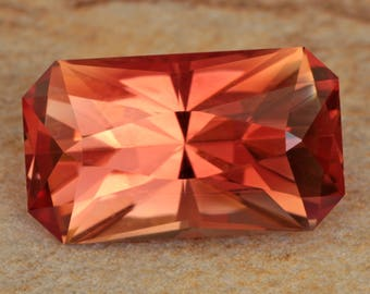 3.21 Carat Oregon Sunstone Gemstone Precision Cut Gem