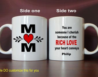 Mom Gift from Son - Daughter - Gifts for Mother - Mom Birthday Gift - Mother's Day Gift, MMA006