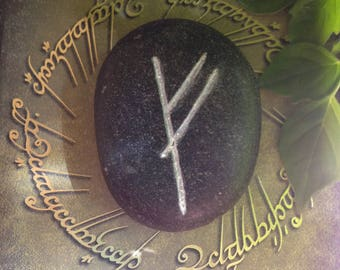 Lord of the Rings Hobbit Rune Stone Glow in the Dark/The Mark of Gandalf