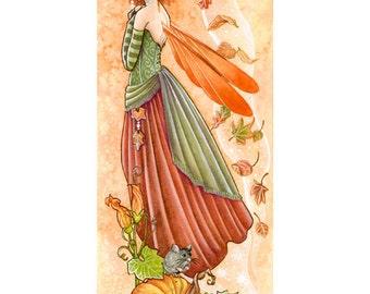 A4 Print - Autumn's Muse