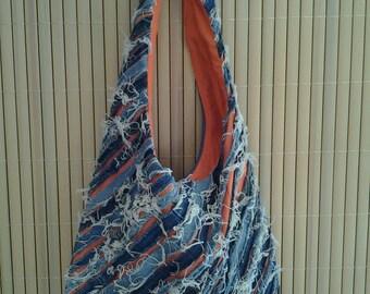 Denim Tote Bag 021