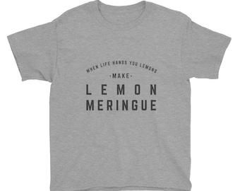 Kid's Baking Gift - Lemon Shirt - Trendy Kid's Tee - Trendy Kid's Shirt - Mommy and Me Shirts - Mommy and Me Outfit - Funny Kid's Shirt