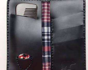 Pomps not Dead Leather wallet