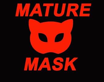 Leather Cat Mask Bdsm Fetish Catwoman Rabbit Clothing