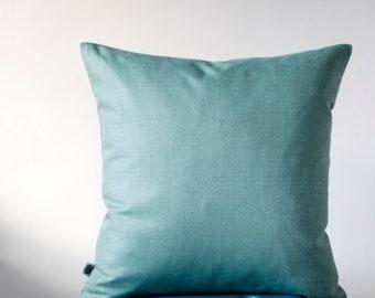 Outdoor pillow cover,   mint outdoor pillows, outdoor pillows decor 0027