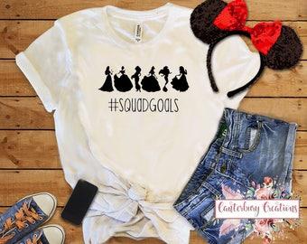 Princess Squad Goals Shirt   Disney vacation disney tank disney shirts disney princess princess squad goals run disney disney marathon