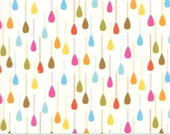 Moda - Gina Martin - Wing & Leaf - Happy Sprinkles - Cloud