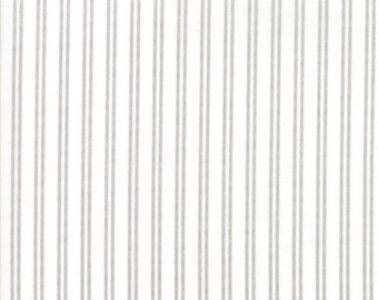 Nest Fabric by Lella Boutiquee for Moda, #5066-11, Eggshell with Stripes - IN STOCK