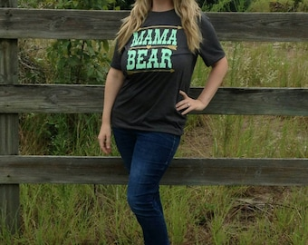 Gift for wife -  Mama Bear  - Gift for mom - shirt for mom - mom shirt - Christmas gift for mom