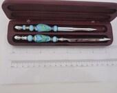 Pen and letter opener set...