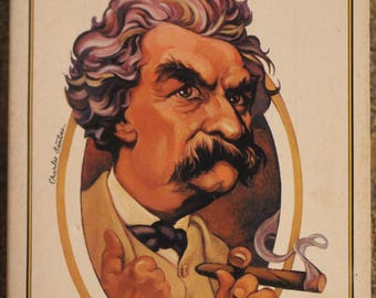 The Unabridged Mark Twain | Lawrence Teacher (1976, Running Press)