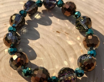Brown and Green Bracelet