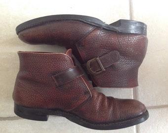 Vintage Florsheim beetle boots.  Size 8D
