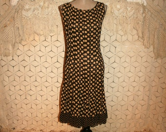 Plus Size Dresses Brown Polka Dot Dress Chiffon Dress Sleeveless Dress Women Dresses Sheer Dress Size 16 Dress 1X Dress XL Womens Clothing