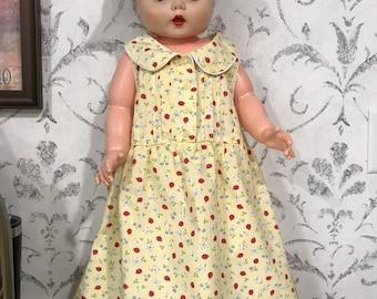 Vintage Strawberry Faire Dress 2T