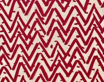 Pink chevron fabric.  Dear Stella.  Quilting Cotton Fabric.  Choose your cut.