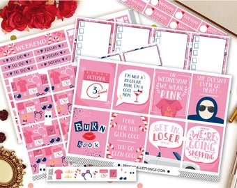 So Fetch Weekly Kit Planner Stickers | Mean Girls Stickers