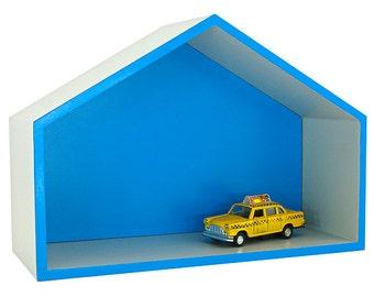 "Shelf House Blue ""Debbi"""