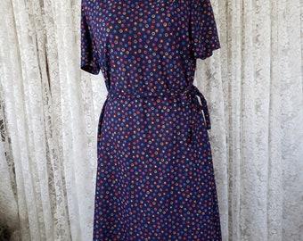 Vintage 3 R's polka dot dress
