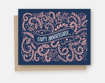Anniversary Card - Happy Anniversary Card - Happy Anniversary - Congratulations - Celebrate Card - Celebration