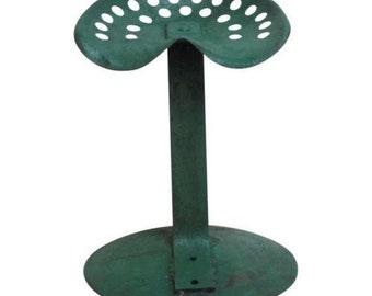 Antique Industrial Custom Made Tractor Seat Bar Stool E