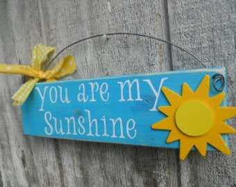 SUMMER, You Are My Sunshine, sign