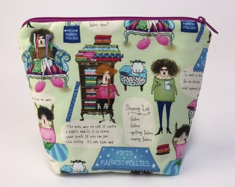 Quilting Ladies: Project Bag