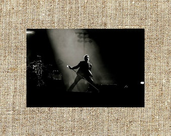 Chester Bennington photograph, black and white photo print, vintage photograph, Christmas gifts for him or her, unique gift ideas, home deco