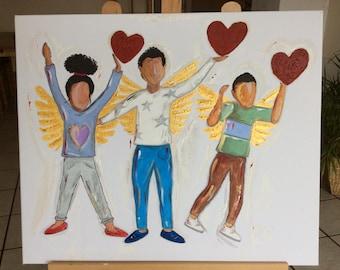 Angel In You (Children standing)