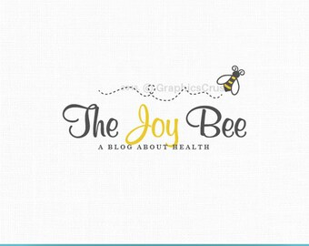 Bee Logo Blog Logo Photography Logo