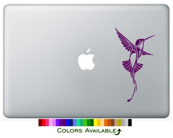 Hummingbird Laptop Decal
