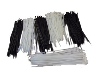 """100pk 12"""" Utility Cable Zip Ties - Various Size and Colors"""
