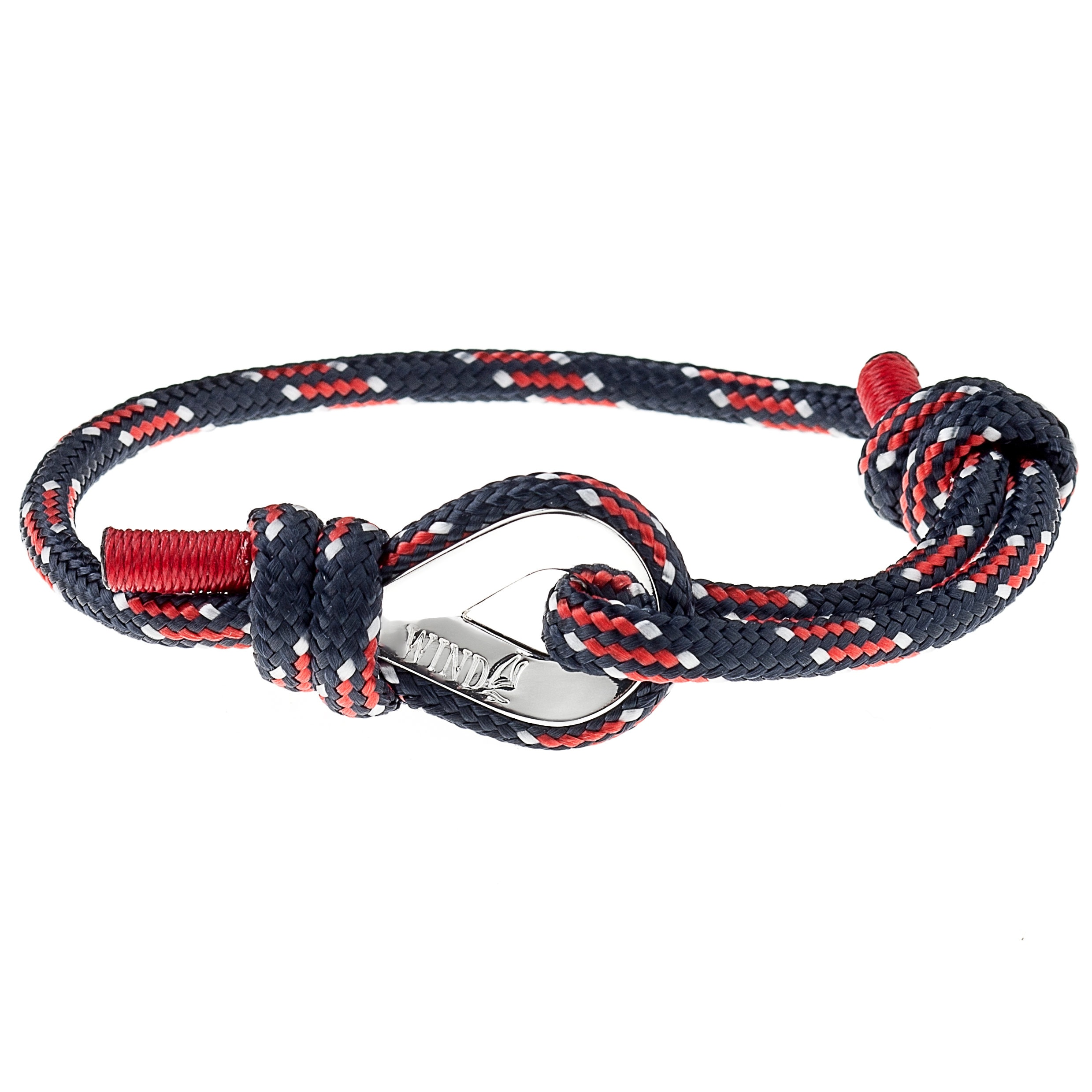 line with pin made thin police out of flag microcord bracelet micro paracord fishtail strands blue stitched thinblueline