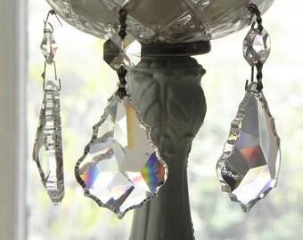 8 complet sans plomb lampe lustre en cristal Français pendentifs pièces 2» L Noël décorations de mariage