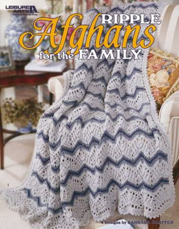 Ripple Afghans for the Family - Leisure Arts Crochet Pattern ...