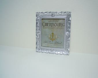 Miniature Silver Framed Print for a Dollhouse in 1:12th Scale