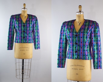 Naughts & Crosses  1980s Jacket / Vintage 1980s Jacket