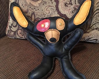Leather Toy Monster