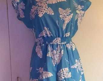 Baby Blue Hawaiian