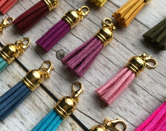 Planner Charm - Small Tassel Planner Jewelry, Accessories