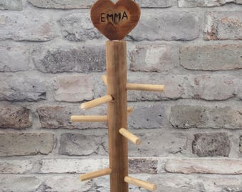 Handmade Personalised Bobble Stand