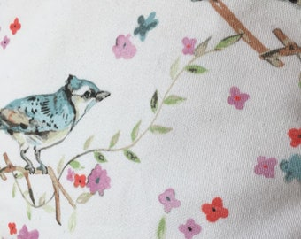 Little Blue Bird cushion cover