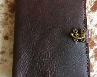 Notebook a5, Handmade leather journals, 6x8 notebook, A5 leather notebook cover refillable, Refillable travel journal, 6x8 paper journal