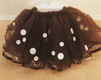 Bambi inspired tutu skirt